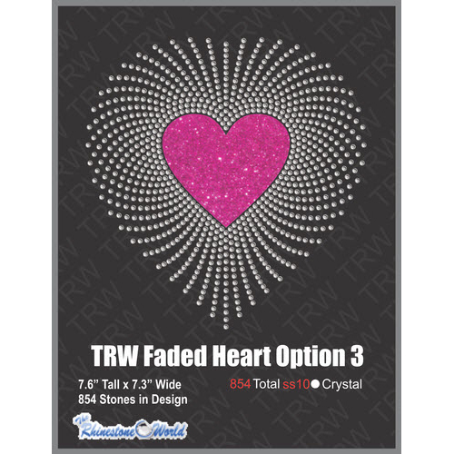 Faded Heart Option 2 Multi-Dec - Download
