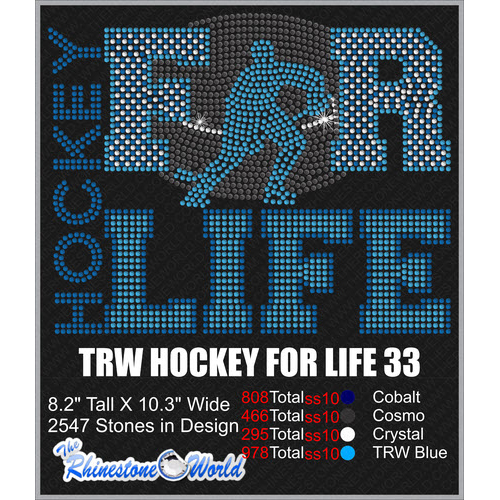 HOCKEY FOR LIFE 33 Design  - Download