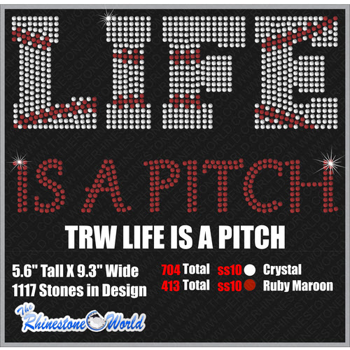 LIFE IS A PITCH Design  - Download