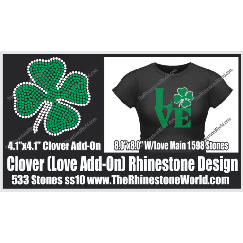 LOVE Clover Add-On Design  - Download
