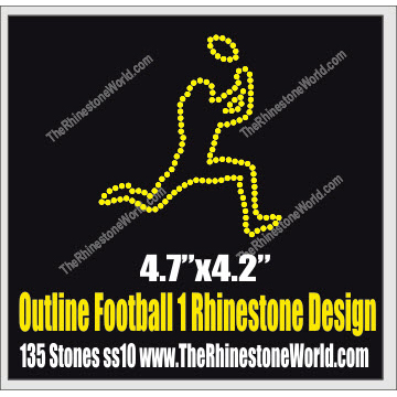 Outline Football 1 Design  - Download