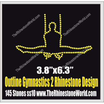 Outline Gymnastics 2 Design  - Download