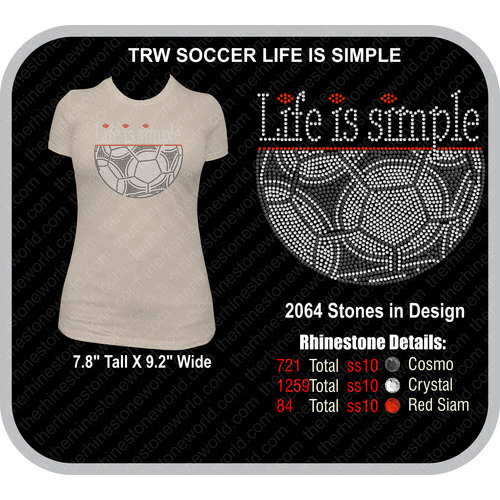 SOCCER LIFE IS SIMPLE Design  - Download