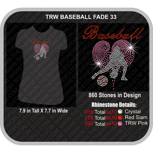 TRW BASEBALL FADE 33 Design  - Download