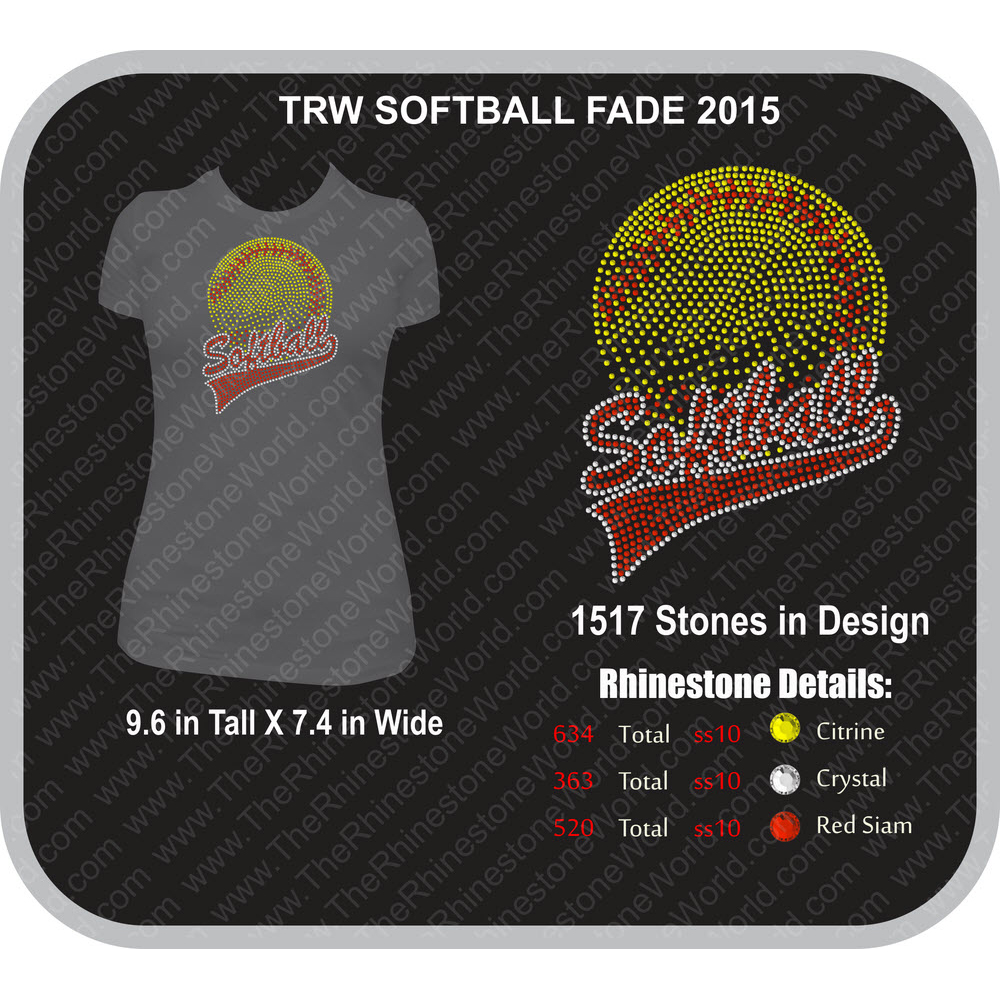 TRW SOFTBALL FADE 2015 Design  - Download