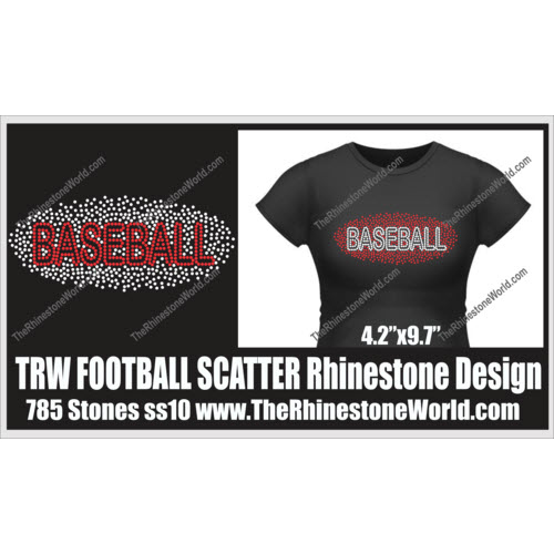 TRW Scatter BASEBALL Design  - Download