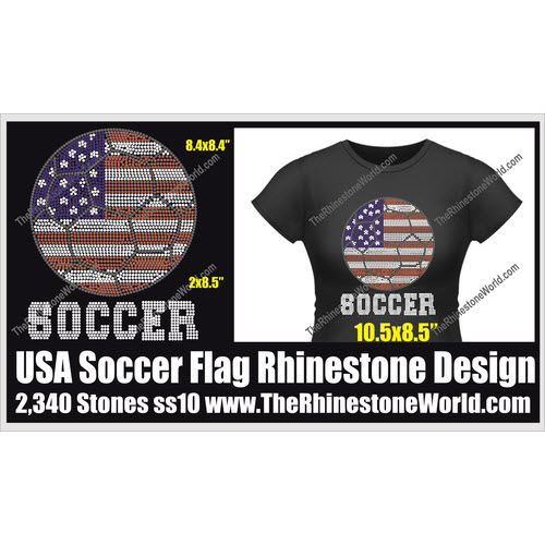 USA Soccer Flag Design  - Download