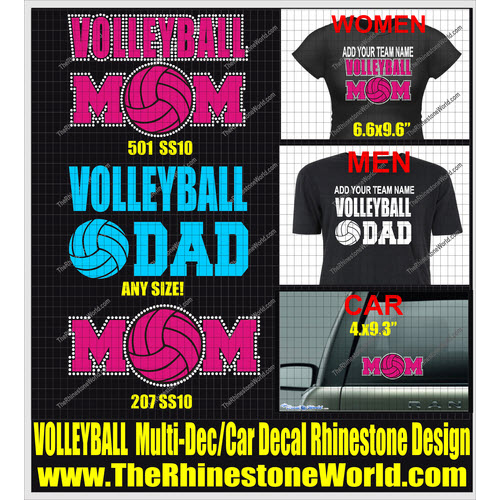 Volleyball Multi-Dec Design  - Download