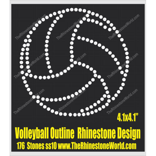 Volleyball Outline Design  - Download