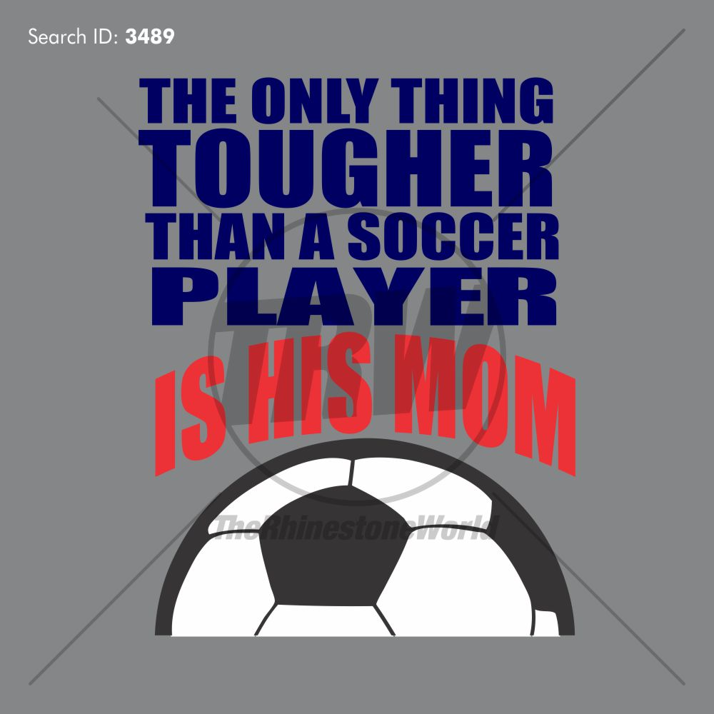 THE ONLY THING TOUGHER SOCCER VECTOR - Download