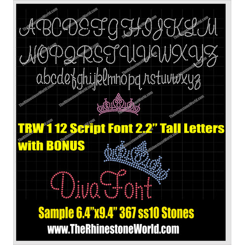TRW 112 Uppercase, Lowercase and CROWN BONUS  Do - Download