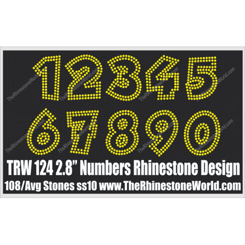 TRW 124 Numbers  - Download