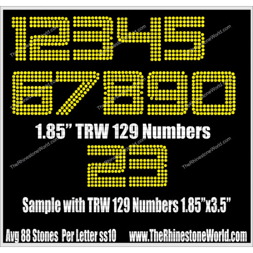 TRW 129 Numbers  - Download