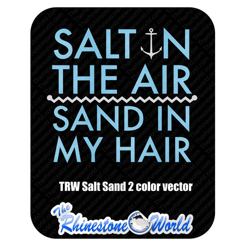 TRW 2 Color Salt Sand Hair Vector  - Download