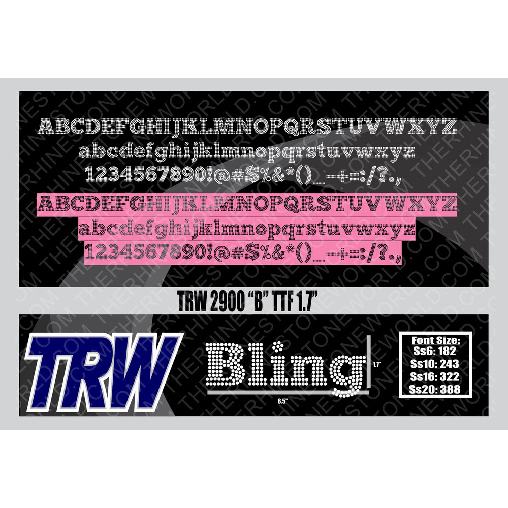 TRW 2900 B Rhinestone TTF - Download