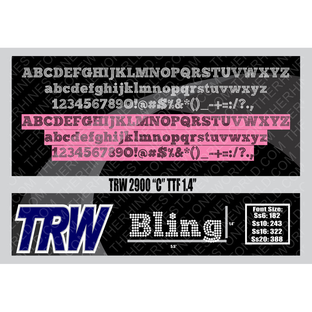 TRW 2900 C Rhinestone TTF - Download