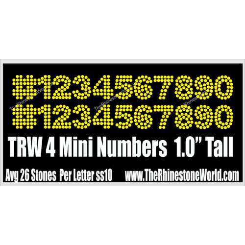 TRW 4 Mini Numbers - Download