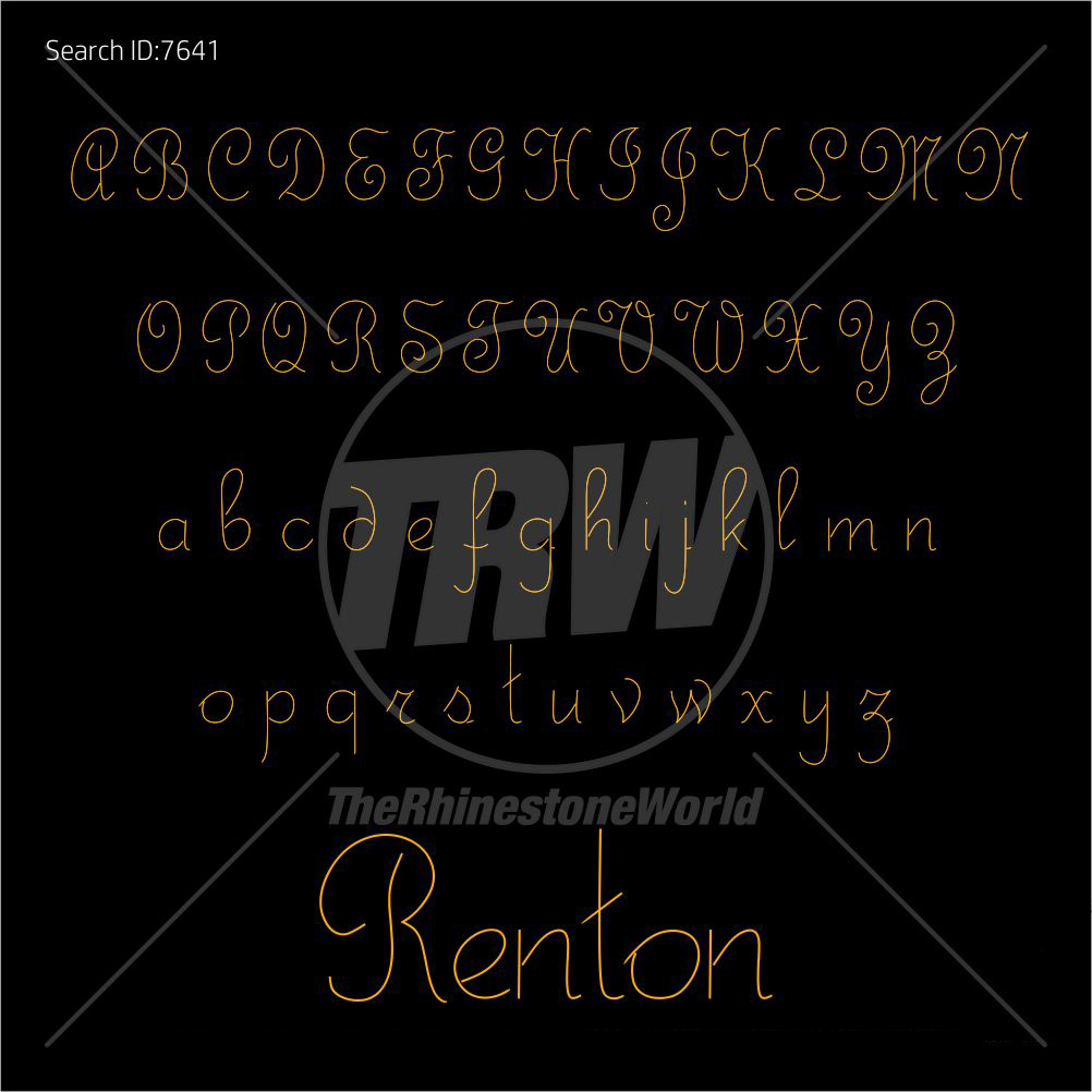 TRW 5050 Script Adjustable TTF - Download
