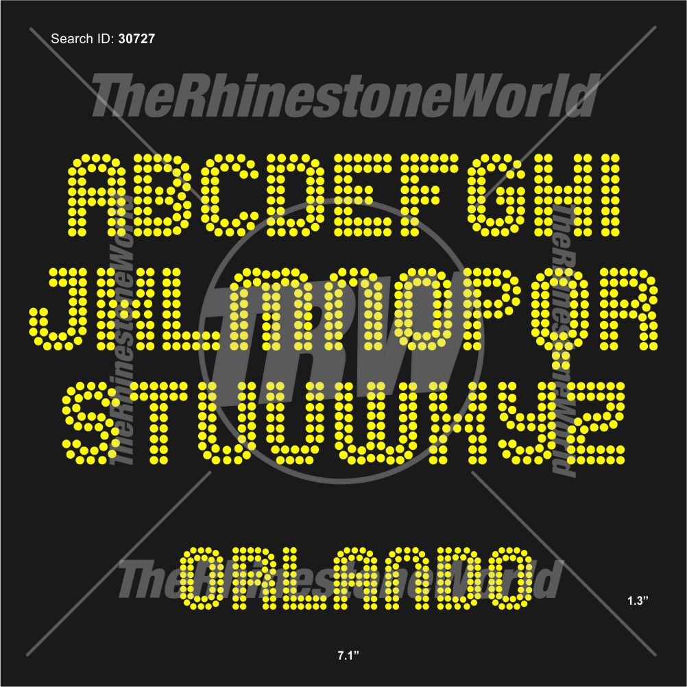 TRW 5821 Rhinestone TTF - Download