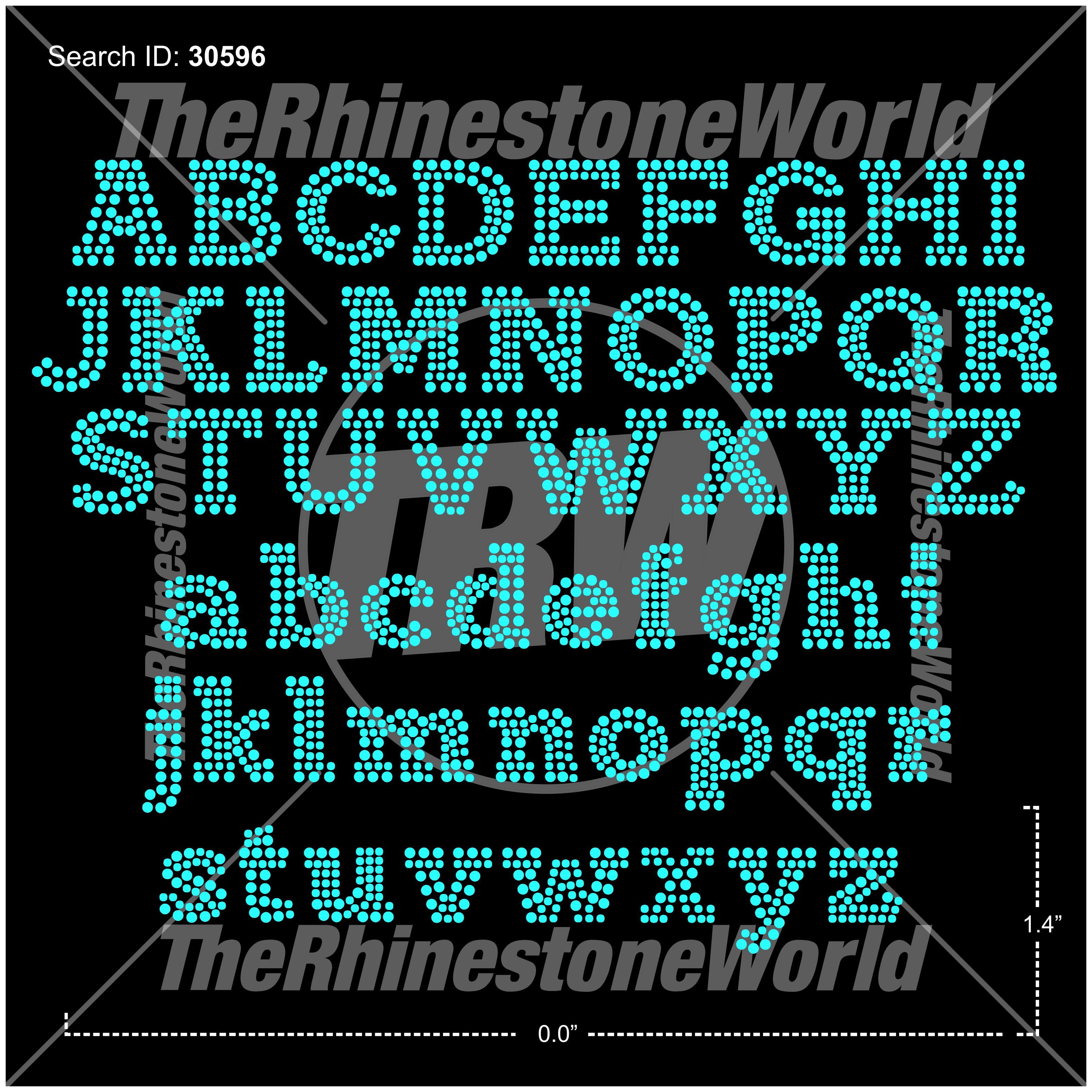 TRW 5989 Rhinestone TTF - Download