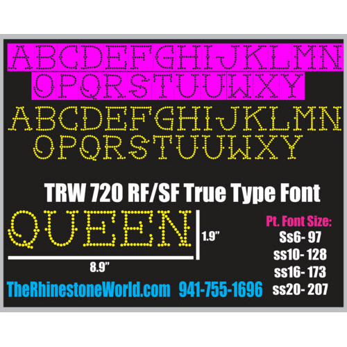 TRW 720 Rhinestone TTF - Download