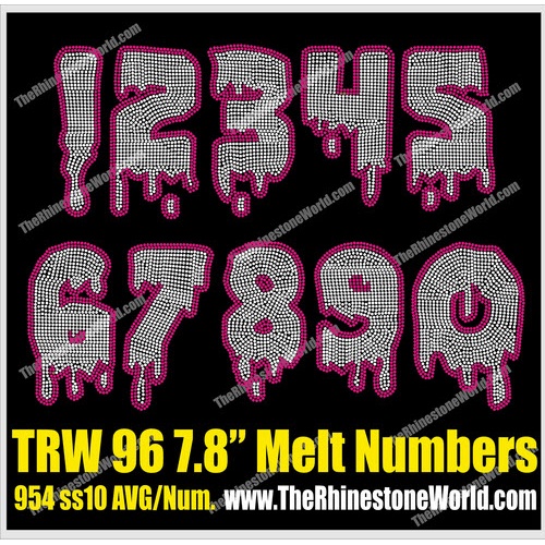 TRW 96 Drip Mega Numbers - Download