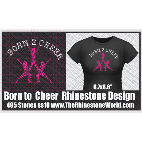 TRW BORN 2 CHEER Design  - Download