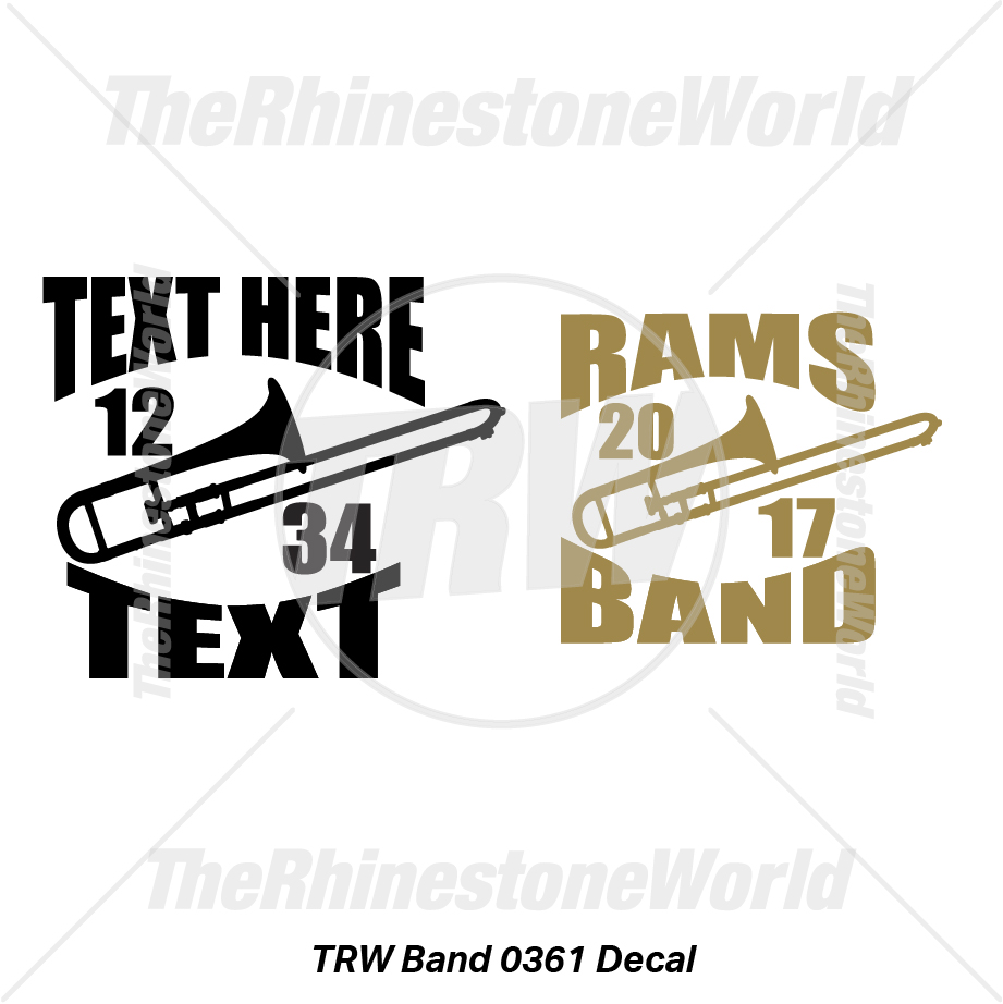 TRW Band 0361 Decal (Vol 1) - Download