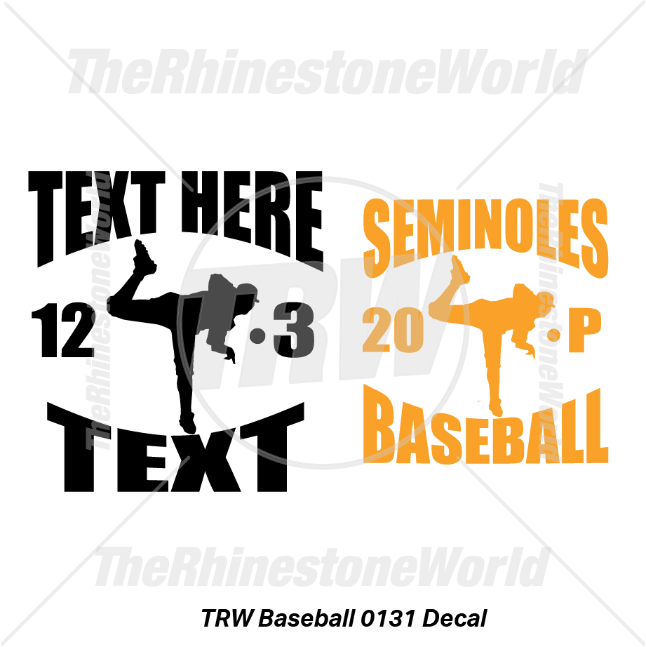 TRW Baseball 0131 Decal (Vol 1) - Download