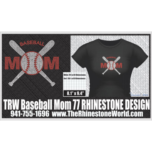 TRW Baseball Mom 77 Design   - Download