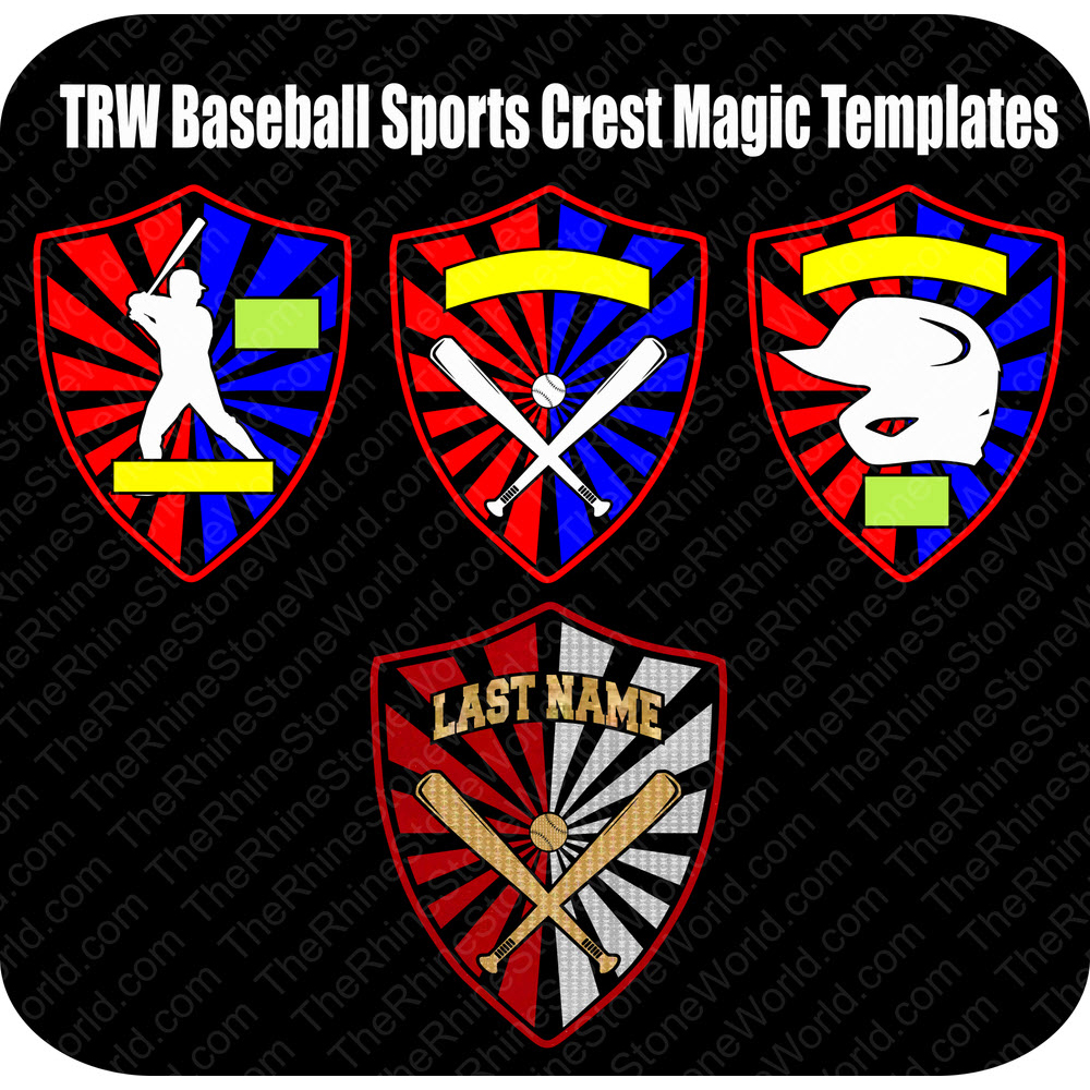 TRW Baseball Sports Crest Pack - Download