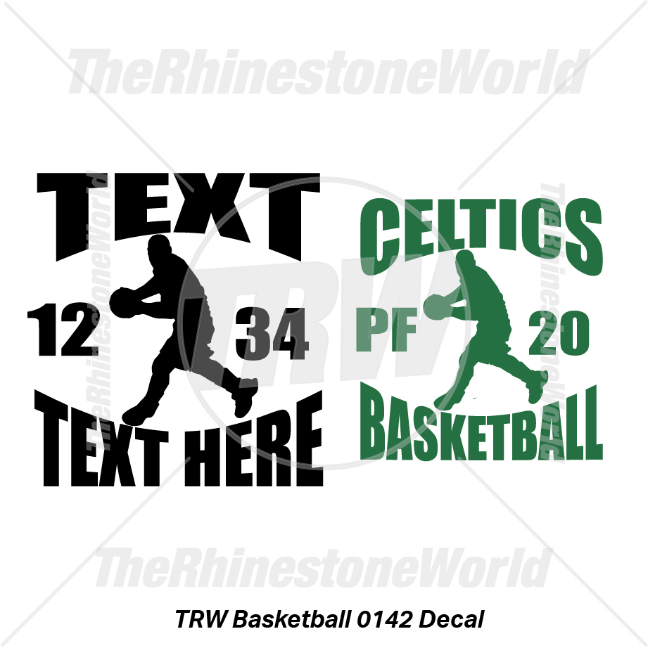 TRW Basketball 0142 Decal (Vol 1) - Download