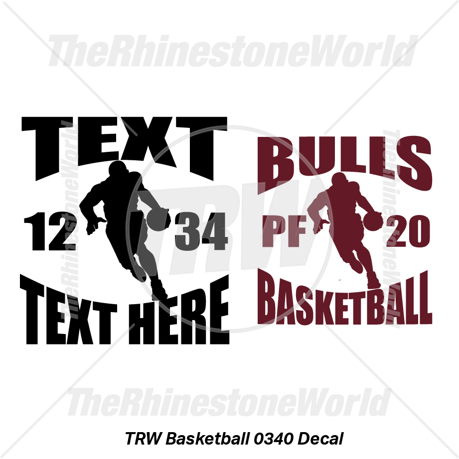 TRW Basketball 0340 Decal (Vol 1) - Download