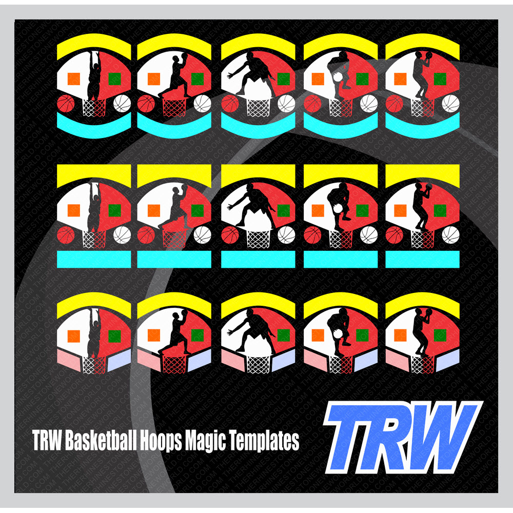 TRW Basketball Hoops Magic Templates - Download