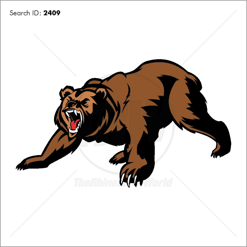 Bear 2 Vector Mascot - Download