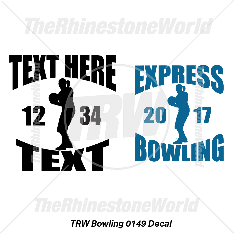 TRW Bowling 0149 Decal (Vol 1) - Download