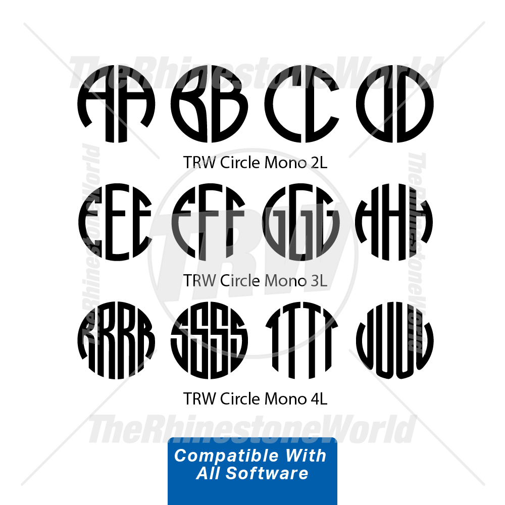 TRW Circle Monogram 1 - All Software - Download