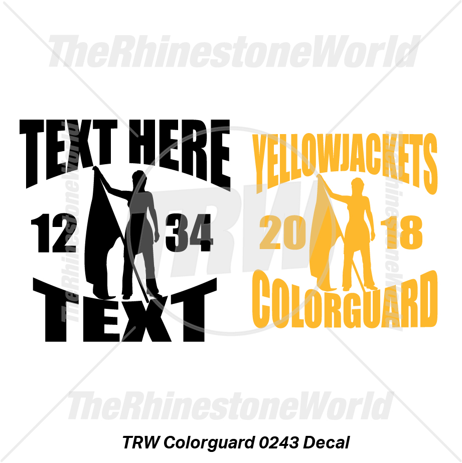 TRW Colorguard 0243 Decal (Vol 1) - Download
