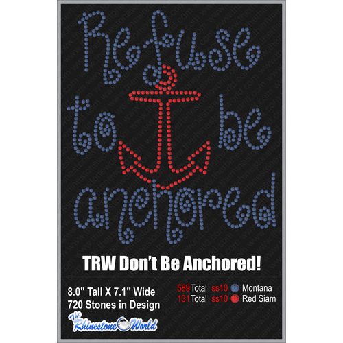 TRW DON'T BE ANCHORED Design  - Download