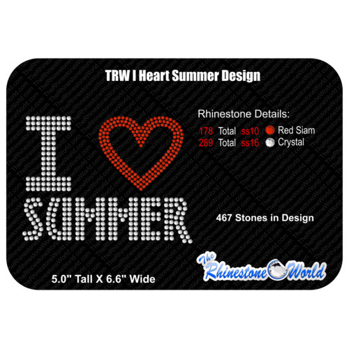 TRW Design I LOVE SUMMER  - Download