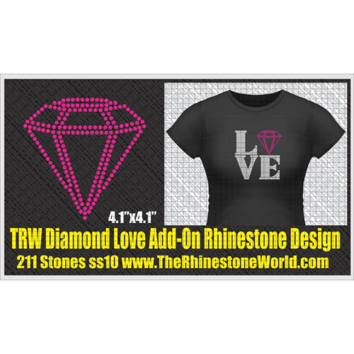 TRW Diamond Love Add-On Design  - Download