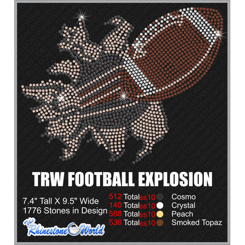 TRW FOOTBALL EXPLOSION   - Download
