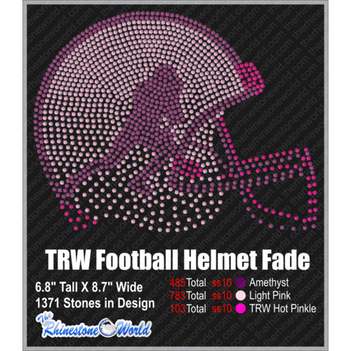 TRW FOOTBALL HELMET FADE OUT Design   - Download