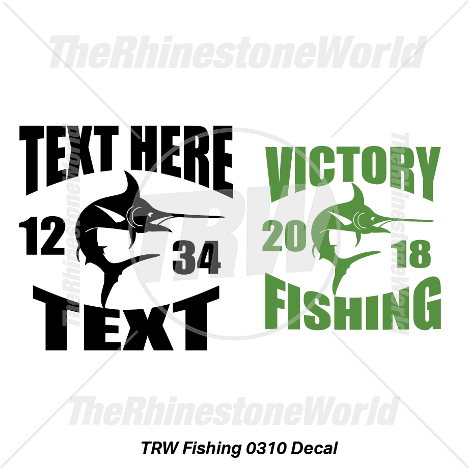 TRW Fishing 0310 Decal (Vol 1) - Download