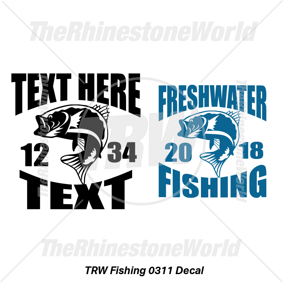 TRW Fishing 0311 Decal (Vol 1) - Download