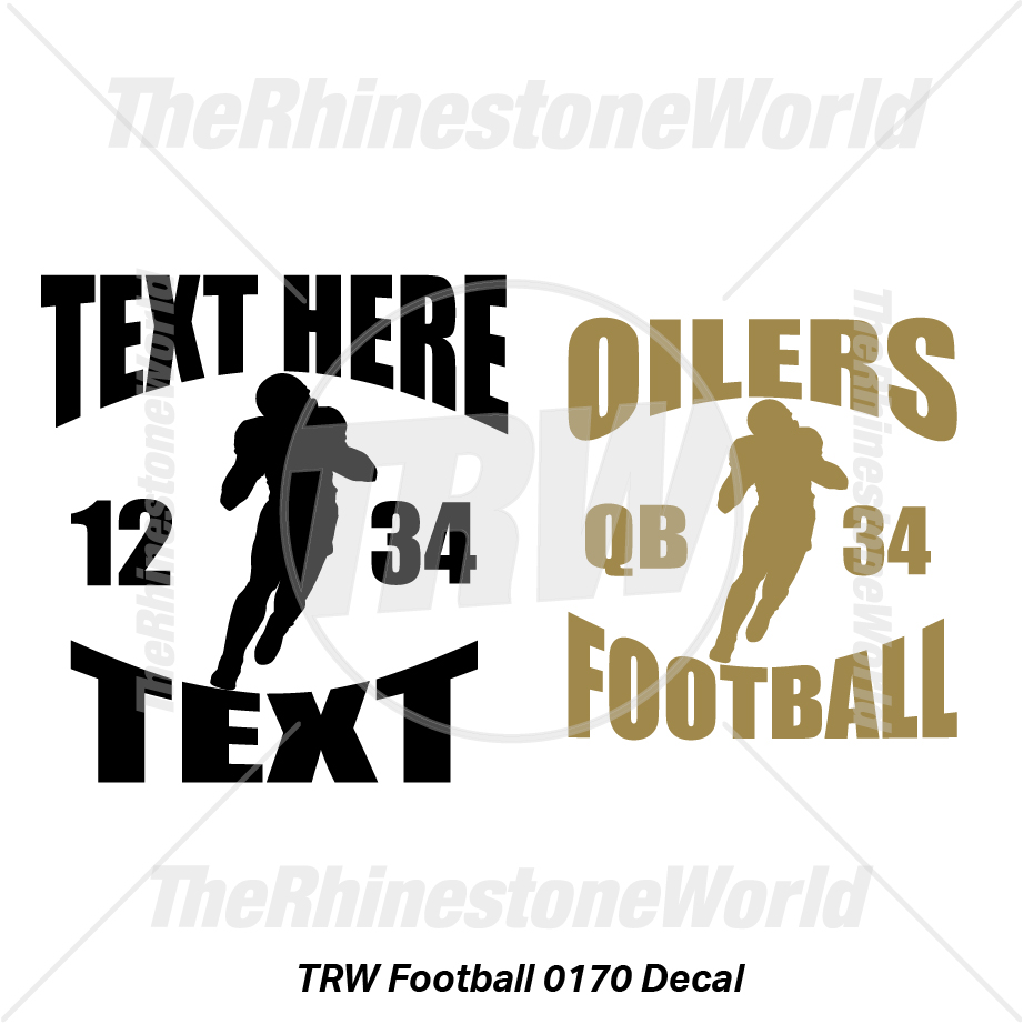 TRW Football 0170 Decal (Vol 1) - Download