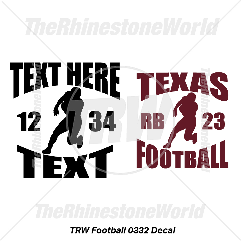 TRW Football 0332 Decal (Vol 1) - Download