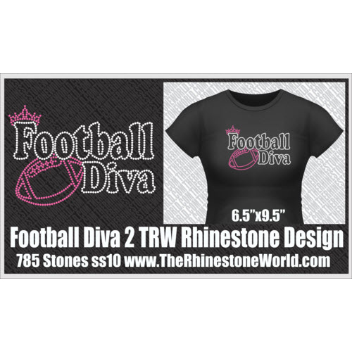 TRW Football Diva 2 Design W/ MOCKUP  - Download
