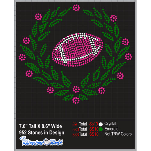 TRW Football Wreath Design   - Download