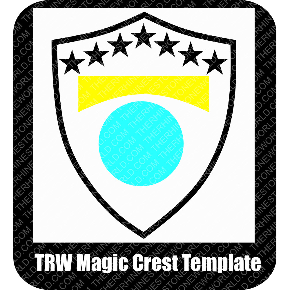 TRW Free Magic Crest Template - Download